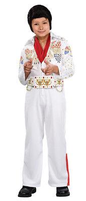 Elvis Costume Boys (Deluxe Elvis Presley Jumpsuit Kids)