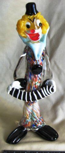 Murano Clown Italian Ebay