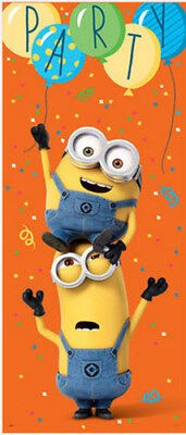 DESPICABLE ME 3 Scene Setter BIRTHDAY party wall or door poster Minions - Despicable Me Scene Setter