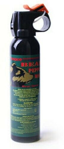 Bear Pepper Spray Deterrent Repellent OC Camping Hiking Personal Protection