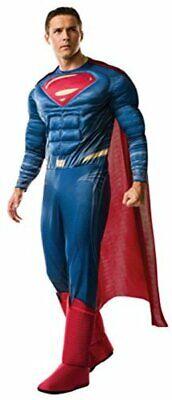 Rubie's mens Superman Adult Deluxe Costume, Dawn of, Multicolor, Size Standard E