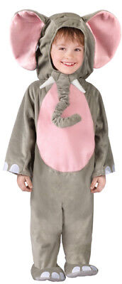 3t Elephant Costume (Cuddly Elephant Toddler Kids Halloween Costume size)