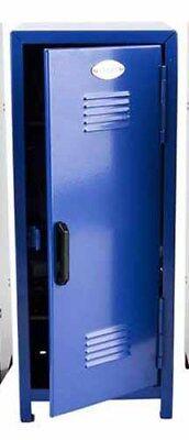 Mini Lockers For Kids (Mini Locker for GI Joe Size figures BLUE, metal with mini pad lock MIS-LOCKBLU )
