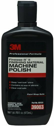 3m 3M-39003 Finesse-it Ii Finishing Material- Machine Polish 39003, 16 Fl Oz