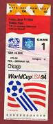 World Cup Ticket 1994