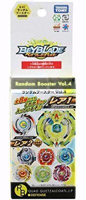 TAKARA TOMY Beyblade Burst B-61 Random Booster Vol.4 QUAD QUETZALCOATL.J.P NEW