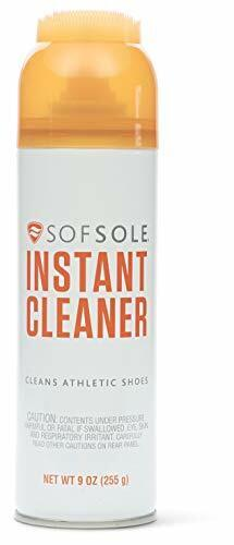 Sof Sole unisex-adult Instant Cleaner Foaming Stain Remover for Athletic Shoes,