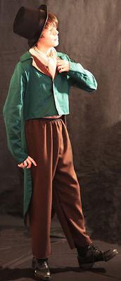 World Book Day-Oliver-ARTFUL DODGER GREEN COSTUME - All - Artful Dodger Kostüm