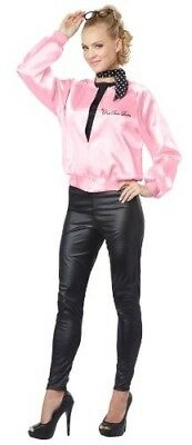 California Costumes The Pink Satin Ladies Adult Costume 3 Sizes