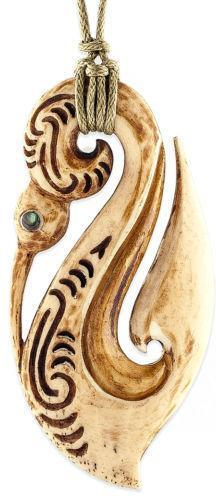 Maori bone pendant ebay