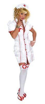 r Kostüm Damen Nurse 2-teilig mit Haube (Damen Krankenschwester Kostüme)
