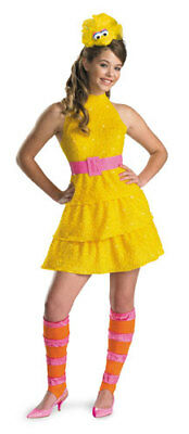 Girls Big Bird Sesame Street Child Halloween Costume