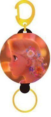 Rapunzel Key ring self retracting / key chain reel  Disney F/S New