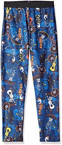 Hot Chillys Youth Pepper Skins Print Bottom, Mariachi-Navy, Large