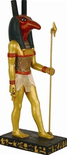 Seth the God of Chaos and Destruction Egyptian Statue 8.5H E-341GP
