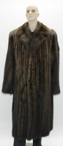 Mens Fur Coat | eBay