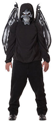 Black Fallen Angel Mask And Wings Adult Costume Accessory](Angel Mask)