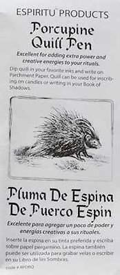 Porcupine Quill Pen for Writing in BoS or on Parchment! ()