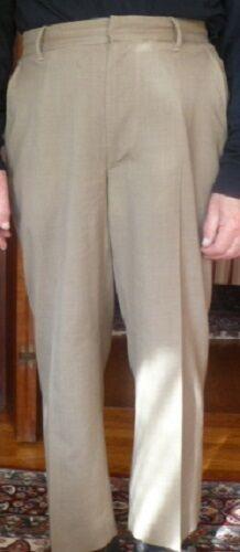Beautiful Beige Michael Kors 100% Wool Dress Pants Size 34 Waist Size 28 Inseam