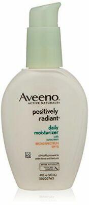 Aveeno Positively Radiant Daily Moisturizer SPF 15 ~ 4 fl oz / 120 mL ~ NWOB Aveeno Spf 15