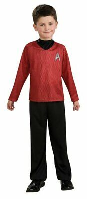 Star Trek Movie Child's Red Shirt Costume with Dickie and Pants, Large