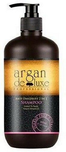 Argan Deluxe Professional Anti Dandruff 2 IN 1 Shampoo, 300