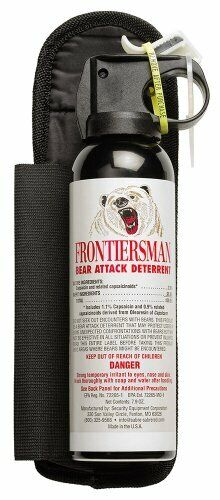 Sabre Frontiersman FBAD-07 Bear Attack Deterrent Pepper Spray w/ Holster - 9.2oz