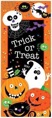 HALLOWEEN party Scene Setter wall  or door poster decor ghost pumpkin bat spider (Halloween Party Posters)