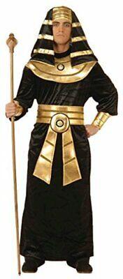 Forum Novelties Men's Pharaoh Costume, Black/Gold, Large, Black/Gold, Size Large