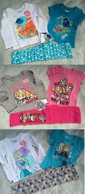 Dory Outfit (NWT Girls 3 piece outfit set Frozen Dory Paw Patrol 2T 3T 4T 2 shirts)