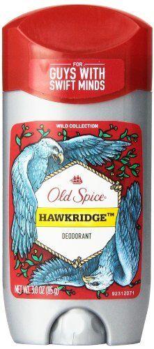 3 Pack Old Spice HAWKRIDGE Anti-Perspirant & Deodorant 3.0 Oz Each