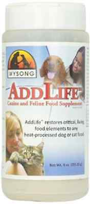 Wysong Addlife Pet Dog Cat Food Supplement Toppers 9 Ounce