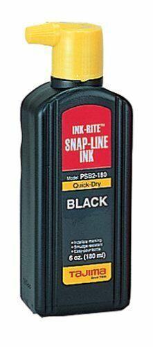 Tajima PSB2-180 INK-RITE Quick Dry Black Ink Rite Snap  Marking Line Easy Fill