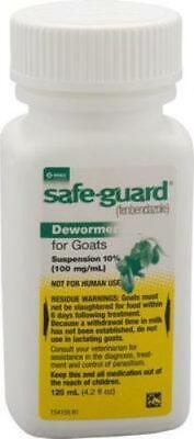 Safe-guard Goat Dewormer