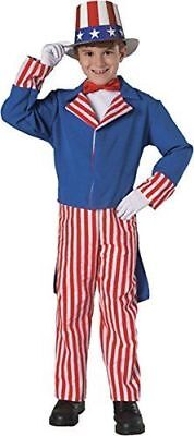 Rubie's Costume Deluxe Uncle Sam Child's Costume, One Color, Small Free Shipping