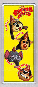 THE-BANANA-SPLITS-large-FRIDGE-MAGNET-RETRO-COOL
