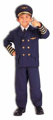 Childrens Official Airline Pilot Costume Medium 8-10](Airline Pilot Costume)