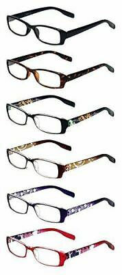 CALABRIA READERS 6 Pairs Ladies' Readers Quality Reading Gla
