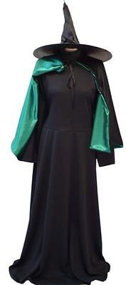 HALLOWEEN/Wizard of Oz WICKED WITCH OF THE WEST COMPLETE COSTUME Ladies - Halloween Wizard Of Oz Kostüm