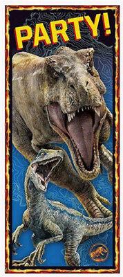 Dinosaur Scene Setter (DINOSAURS Fallen Kingdom Scene Setter HAPPY BIRTHDAY party door prehistoric)