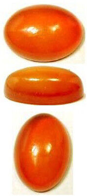 18thC Antique 5¼ct+ Carnelian Ancient Gem of Sumerian Queen Pu-abi + Tutankhamun