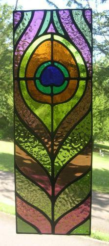 Stained Glass Panel Ebay