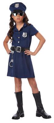 Police Girl Costume Halloween (Tough Cop Girls Navy Police Halloween)