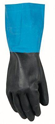 Wells Lamont Work Gloves With Gauntlet Cuffneoprene Overdip Coatedlarge 191l