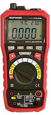 Tekpower Tp8229 Auto-range 5-in-1 Digital Multimeter Lux Sound Level Tester