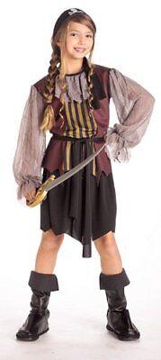Piraten Königin der Hoher See Halloween Kostüm Größe Mädchen 4-6
