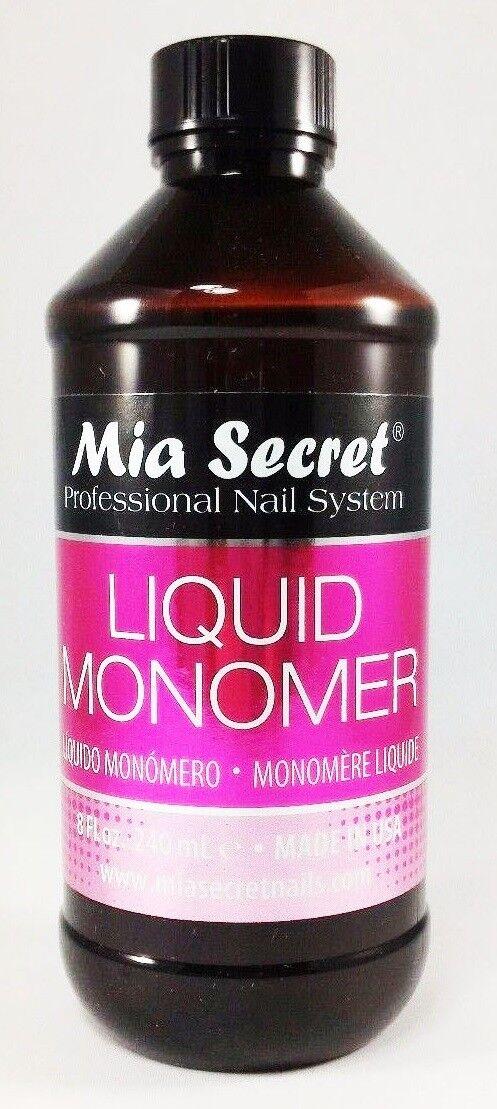 Mia Secret Professional Acrylic Nail System Liquid Monomer 8 oz