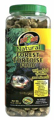 Zoo Med Natural Tortoise Food, 15-Ounce, Forest Natural Forest Tortoise Food