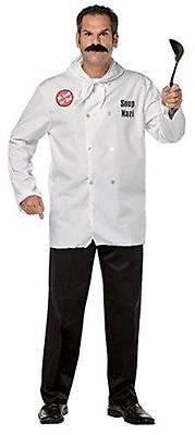 Seinfeld Halloween Costumes (Rasta Imposta Seinfeld Soup Nazi Mens Adult One Size Halloween Costume)