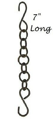 Iron Decorative Chain (Iron Chain with S Hooks on Ends 7